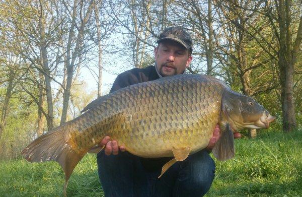 Premier beau poisson de l année. 19kg