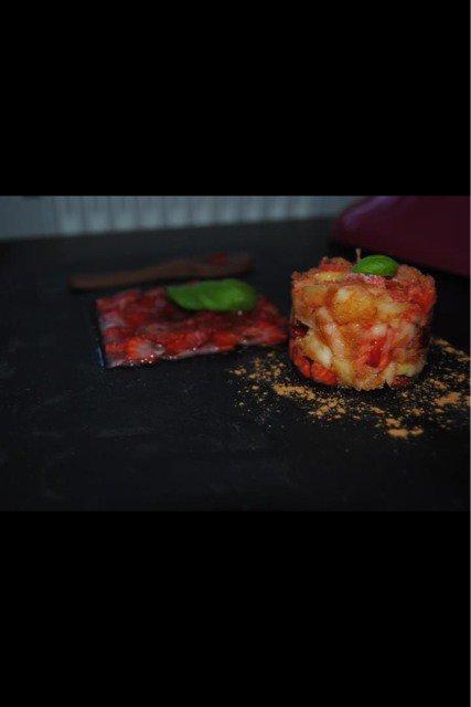 Carpaccio de fraises & Cie