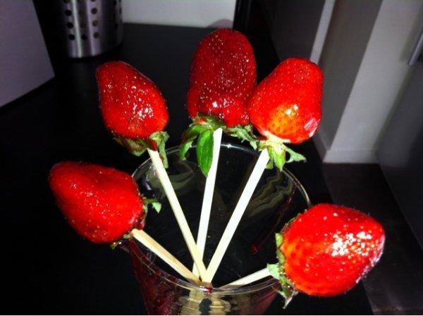fraises d'amour