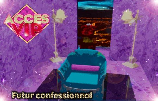 Le dessin 3D : Le Confessionale !