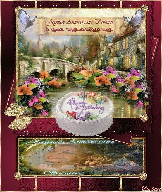 Joyeux Anniversaire…Samira 12.10.2010