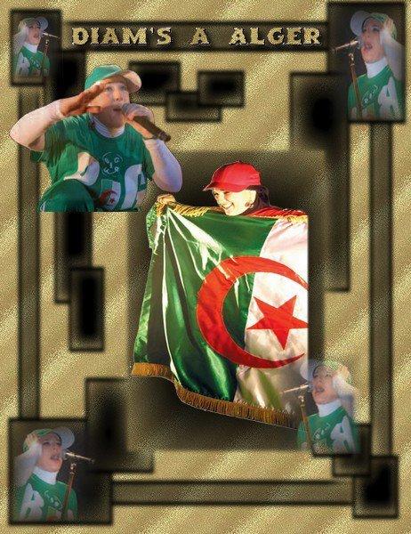 Diams en concert a Alger...