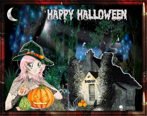 C'est la fête d'Halloween !