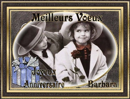 Joyeux Anniversaire mon amie Mireille