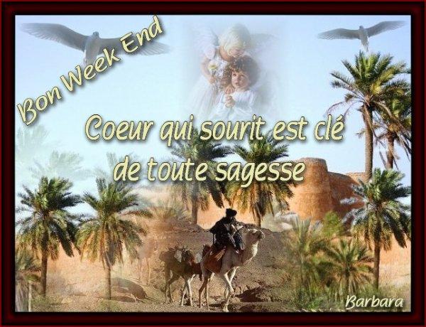 Bon weekend....