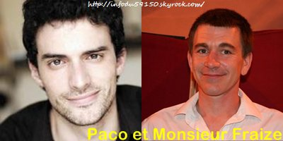 Sondage: Paco, nouveau M.Fraize ?