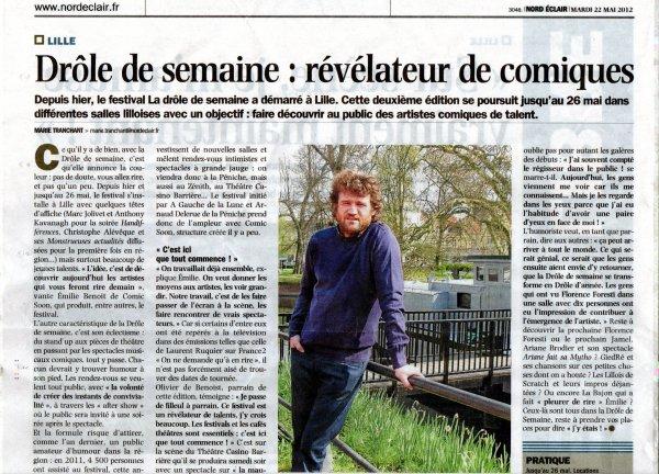 La Drôle de Semaine à Lille !
