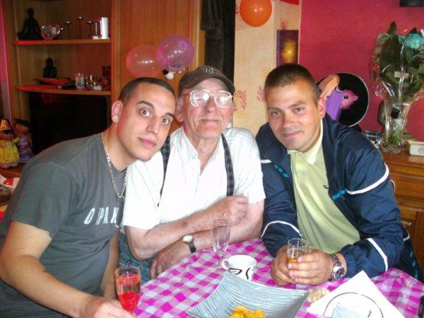 Moi, mon papay & Zerko...