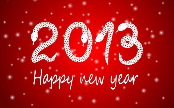 Bonne année a tous....