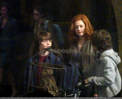 Albus, Ginny et James