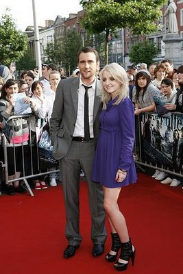 Matthew Lewis et Evanna Lynch