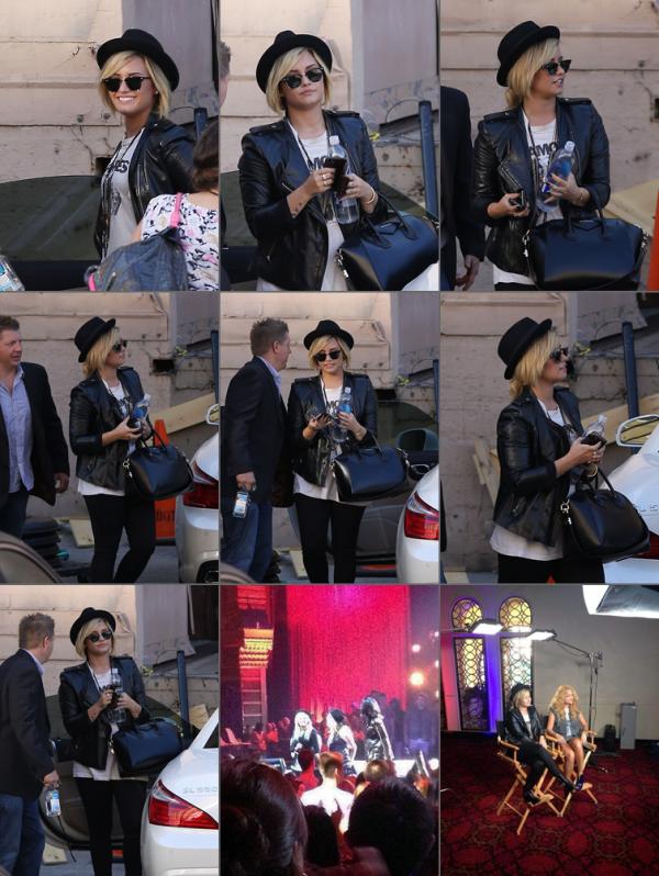 Le 05/09 Demi était à la X Factor Season 3 Premiere Party !!