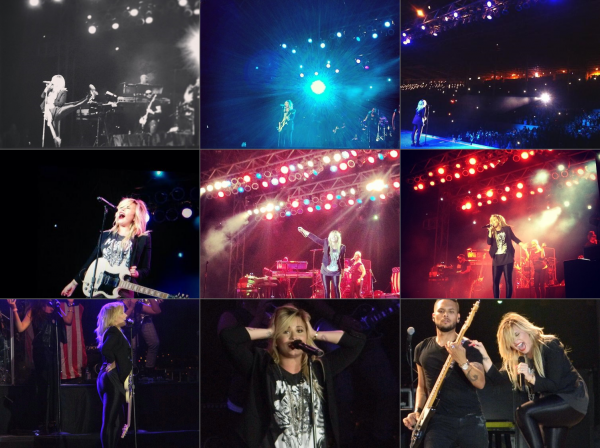 Le 14/09, Demi a performée au LA County Fair à Los Angeles !!
