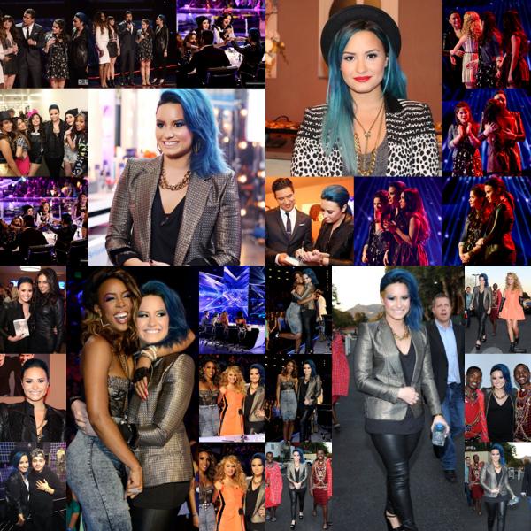 """LE 09/11 - Demi est aller à la parade de Noel de Disney à Disneyland en Californie ou elle y a interprétée """" Let It Go """" !!"""