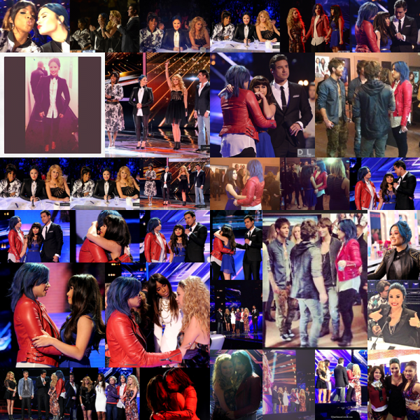 LE 28/11 - Demi a performer Neon Lights sur le plateau de X Factor à Los Angeles !!