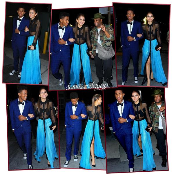 LE 23/01 - Zendaya c'est rendu au Friends 'N' Family 17th Annual Pre-GRAMMY Party à Los Angeles ! Sa tenue est assez spécial, je lui met un BOF et vous quel est votre avis ?