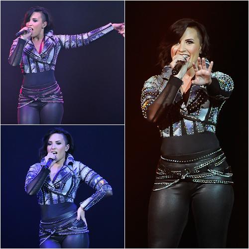 LE 28/11 - Demi a fait un concert à Londres en Angleterre!