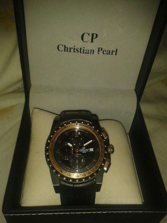 j'aime ma montre 'CP'