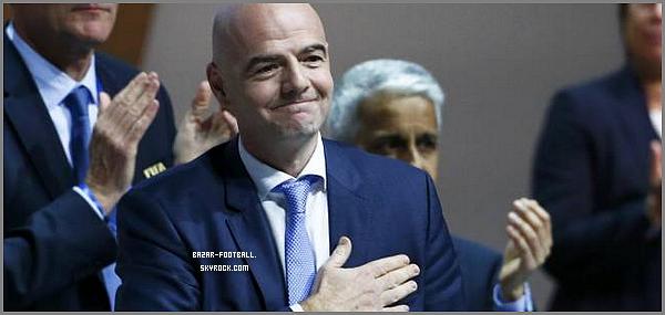 FIFA: Gianni Infantino élu président de la FIFA