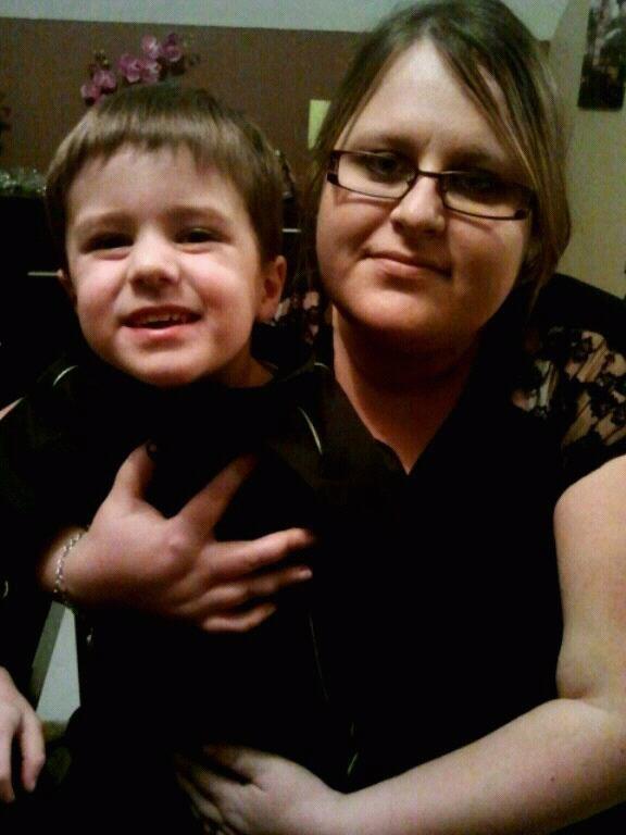 Ma cherie et mon neveu noah
