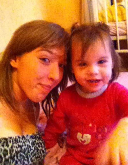 Moi et ma filleule <3