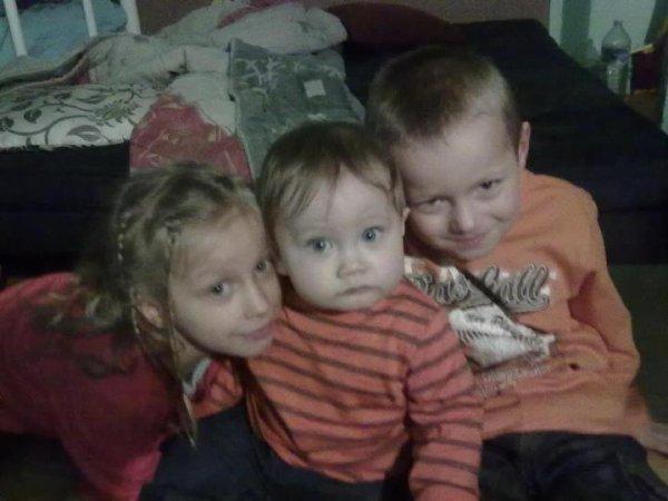 Mes neveu et ma niece <3