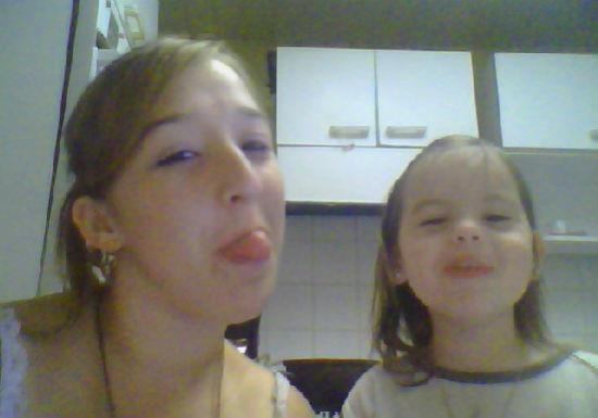 Moi et ma filleule en plein delire ^^