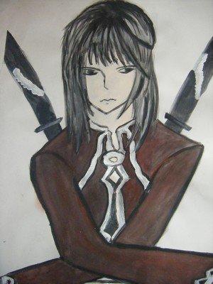 Un jeune homme aux épées doubles, Lakshry...