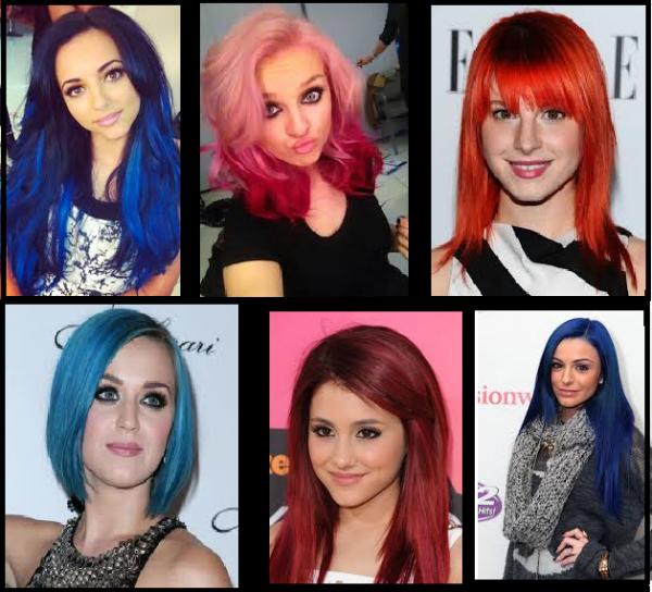 Le prix des stars aux cheveux colorés