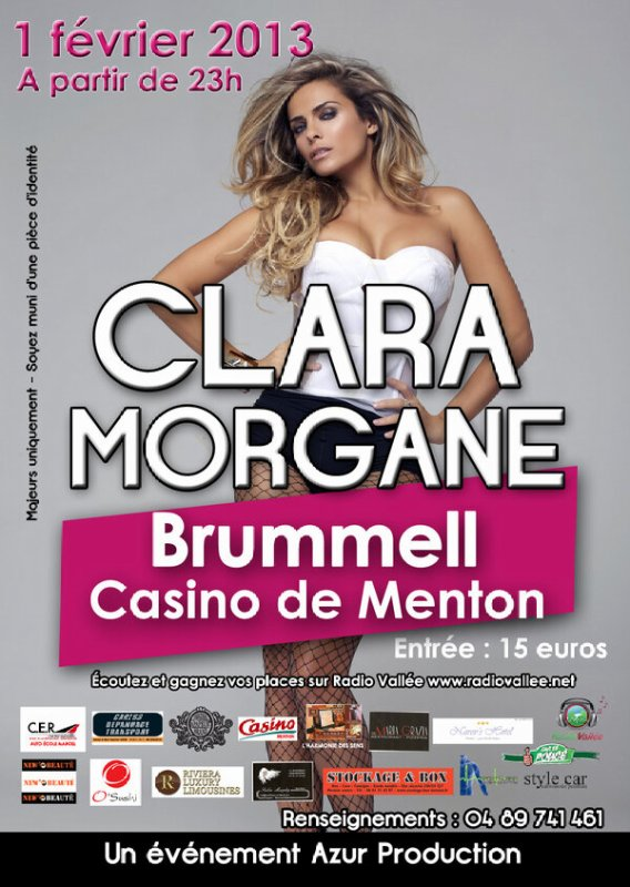 Clara a brummell casino de Menthon