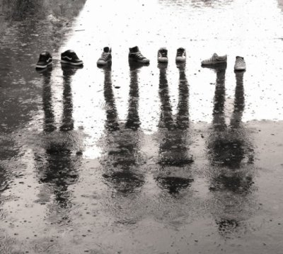 pluie tombre