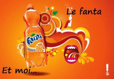 Le Fanta et moi.. (Un petit délire après avoir bu du Fanta Orange)