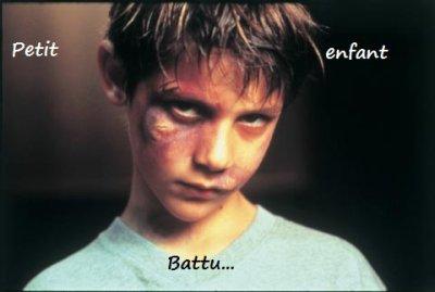 Petit Enfant Battu..