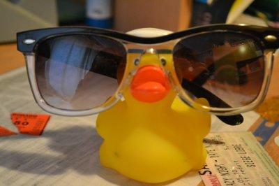 Mon canard en plastique il a la classe :B