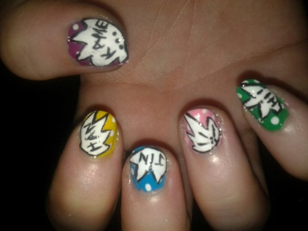 Nail art 13 (main droite)