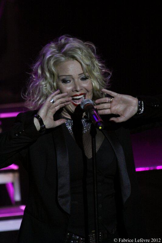 Kim Wilde en 2012 au TRIANON