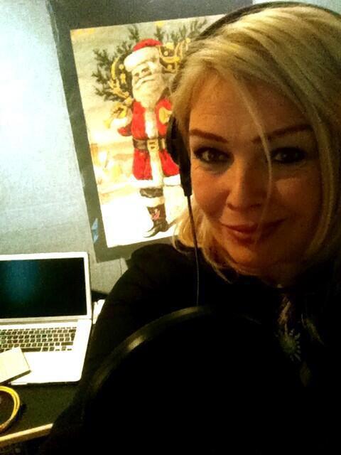 Kim Wilde dans les studios d'enregistrement RAK