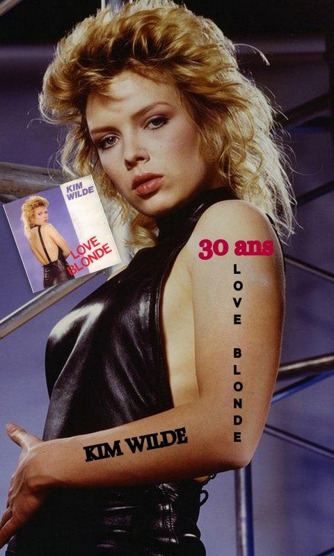 Love Blonde 30 ans