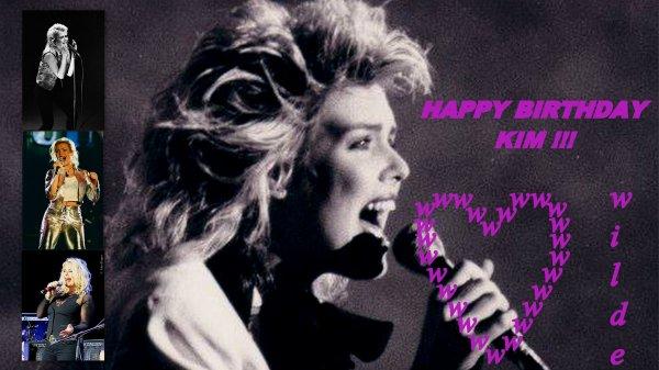 Kim Wilde fête aujourd'hui ses 53 ans