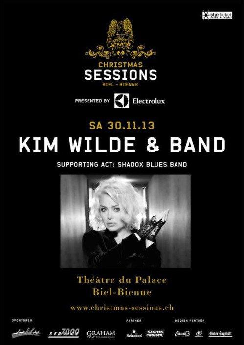 Kim Wilde en Concert le 30/11/13 à Bienne en Suisse - Christmas Sessions