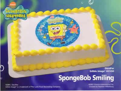 Gateau sponge pop