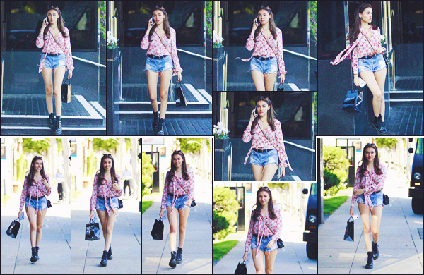 - -• 18/06/18-' : La belle Madison E. Beer a été photographiée pendant une séance shopping à XIV Karats - Beverly Hills !     Toujours ce grand sourire sur le visage de la brunette, une tenue simple mais au top du top. En vain, une jolie sortie qu'elle nous offre. • alors, ton avis ? -