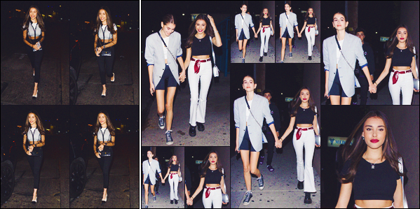 - -• 19/06/18-' : Madison et Kaia Gerber ont été photographiées alors qu'elles arrivaient pour performer • à Los Angeles !     Les deux amies semblent plus proches que jamais et ça fait plaisir à voir | 19/06 Madison quittant le « Peppermint » à Los Angeles. • • alors, ton avis ? -