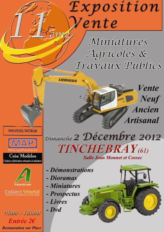 EXPOSITION DE MINIATURES AGRICOLES A TINCHEBRAY !!!!