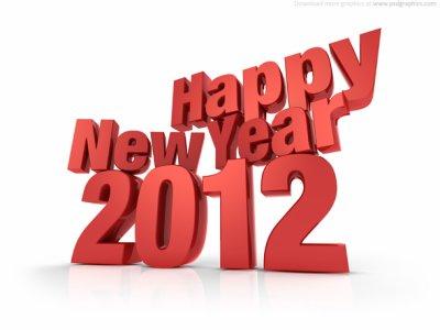 Bonne Année 2012 à tous !!!!
