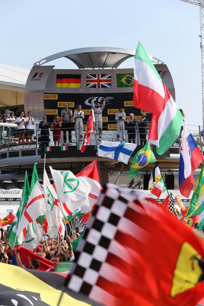 Monza + F1 = Beau GP.