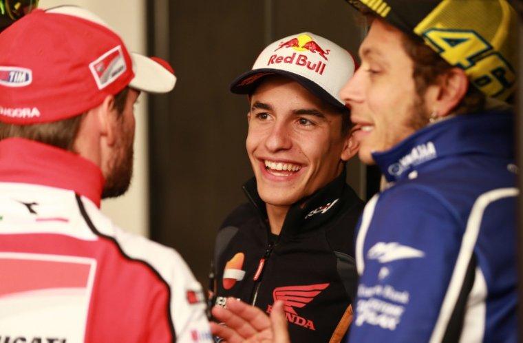 """Marquez en F1? > """"Stop aux questions! Mon monde est ici en MotoGP""""."""