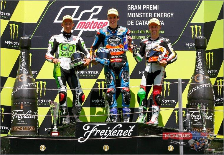 Podium 100% Espagnol > MotoGP™