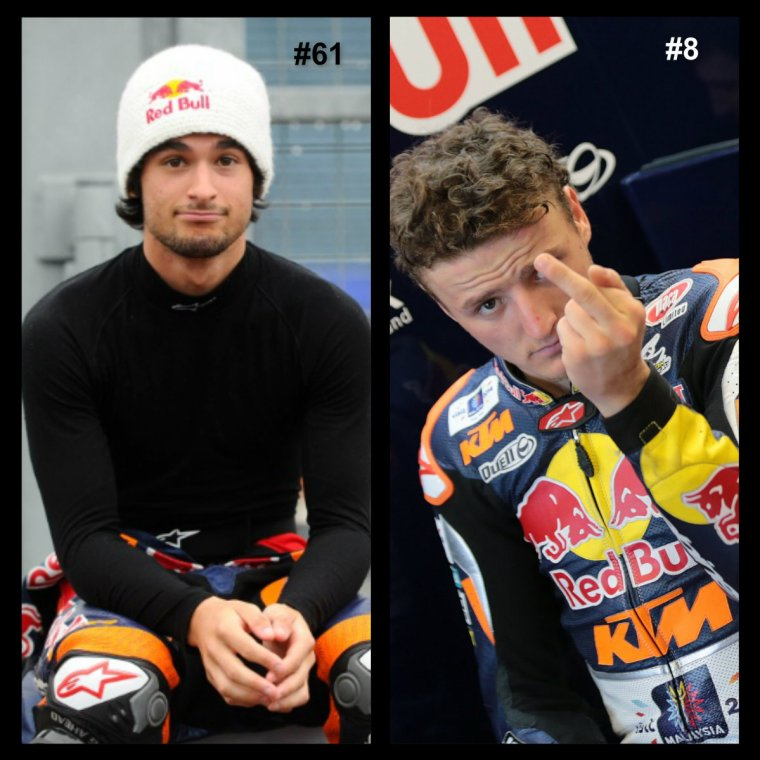 Pilotes MotoGP - Moto2 & Moto3 que je soutiens (l)