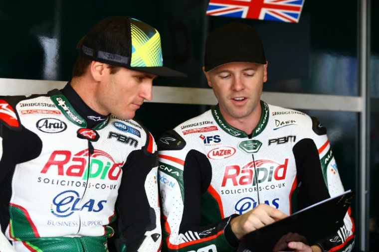 Broc Parkes & Michael Laverty au 24h du Mans ;)